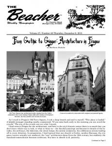 From Gothic to Ginger: Architecture in Prague