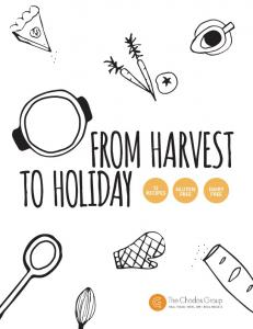 FROM HARVEST TO HOLIDAY