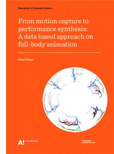 From motion captureto performancesynthesis: A data based approachon fu l-body animation