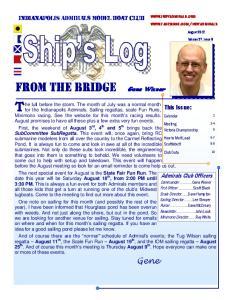 FROM THE BRIDGE Gene Wisner