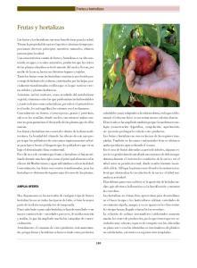Frutas y hortalizas. Frutas y hortalizas