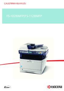 FS-1128MFP FS-1300D
