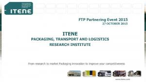 FTP Partnering Event OCTOBER 2015