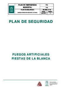 FUEGOS ARTIFICIALES FIESTAS DE LA BLANCA
