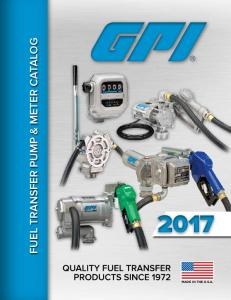 FUEL TRANSFER PUMP & METER CATALOG