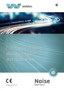 Fulfils your dreams about peaceful and quiet area. Noise. barriers