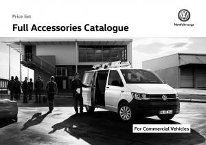 Full Accessories Catalogue