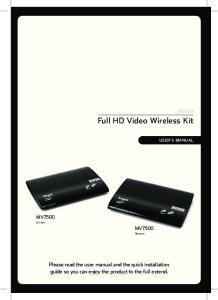 Full HD Video Wireless Kit