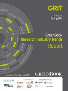 FULL Report Spring GreenBook Research Industry Trends. Report