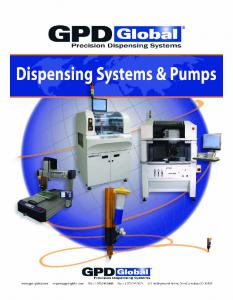Fully Automated Dispense Systems