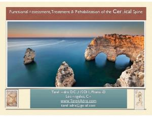 Functional Assessment, Treatment & Rehabilitation of the Cervical Spine