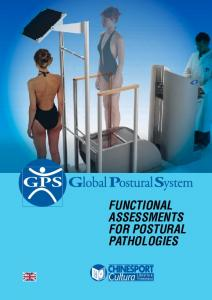 FUNCTIONAL ASSESSMENTS FOR POSTURAL PATHOLOGIES