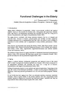 Functional Challenges in the Elderly
