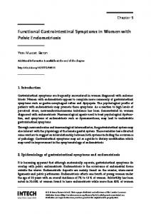 Functional Gastrointestinal Symptoms in Women with Pelvic Endometriosis