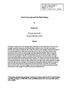 Fund Convexity and Tail Risk-Taking