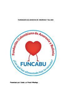 FUNDACION COLOMBIANA DE ANOREXIA Y BULIMIA