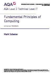 Fundamental Principles of Computing