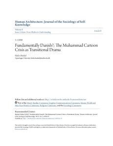 Fundamentally Danish?: The Muhammad Cartoon Crisis as Transitional Drama