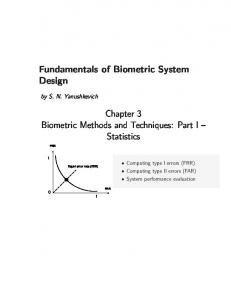 Fundamentals of Biometric System Design
