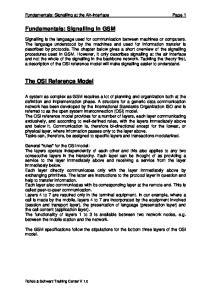 Fundamentals: Signalling at the Air-Interface Page 1