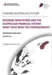 Funding Australia s Future
