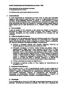 Fundo Constitucional de Financiamento do Norte - FNO