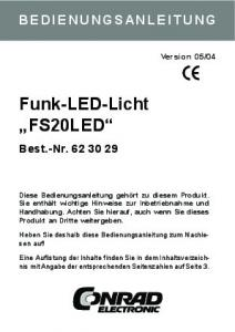 Funk-LED-Licht FS20LED
