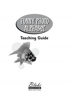 Funny Photo Alphabet. Teaching Guide