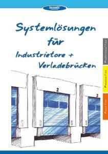 fur Industrietore + Verladebrucken Professional Line Premium Line Power Line
