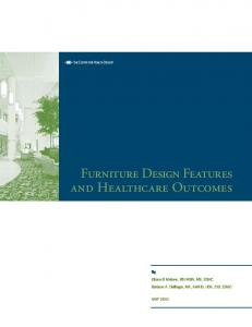 Furniture Design Features and Healthcare Outcomes