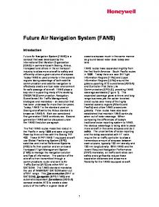 Future Air Navigation System (FANS)