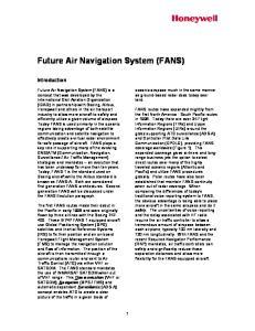 Future Air Navigation System (FANS)