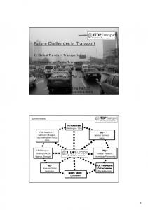 Future Challenges in Transport