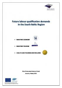 Future labour qualification demands in the South Baltic Region