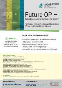Future OP Zukunftsorientierte Konzepte für den OP