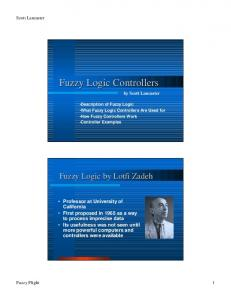 Fuzzy Logic Controllers