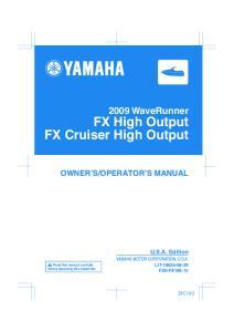 FX High Output FX Cruiser High Output