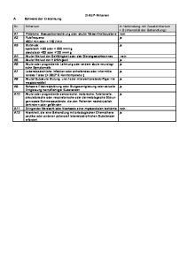 G-AEP-Kriterien. Schwere der Erkrankung
