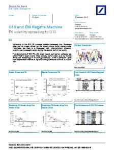 G10 and EM Regime Machine