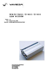 G1900 GSM MODEM