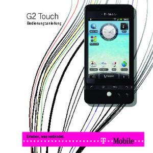 G2 Touch. Bedienungsanleitung