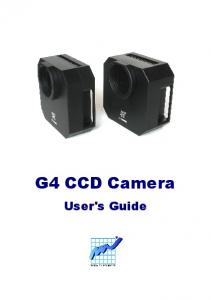 G4 CCD Camera. User's Guide