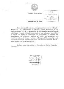 Gabinete do Presidente }