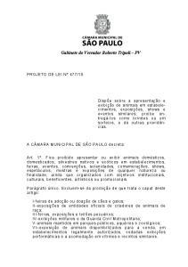 Gabinete do Vereador Roberto Tripoli PV