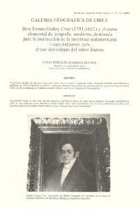 GALERIA GEOGRAFICA DE CHILE