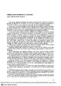 Galicia entre la historia y la leyenda