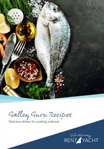 Galley Guru Recipes. Delicious dishes for cooking onboard