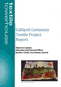 Gallipoli Centenary Textile Project Report