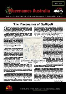 Gallipoli was described in the Age newspaper on 16th May
