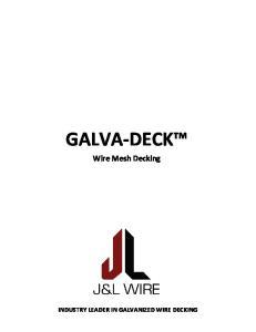 GALVA-DECK Wire Mesh Decking